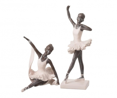 Set 2 ukrasa Ballerina