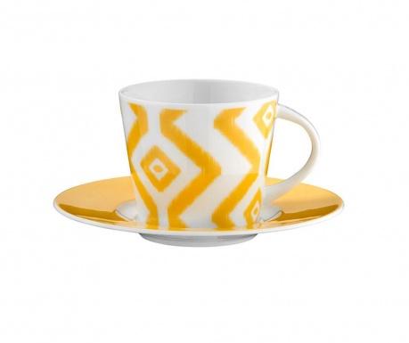 Set 6 šalica i 6 tanjurića Coffee Lacey
