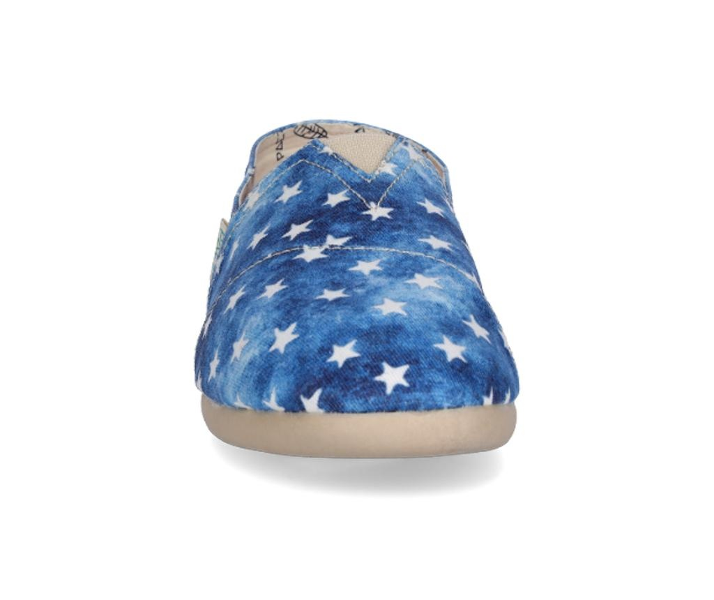 Espadrile dama Classic Print Stars Dark Blue 36