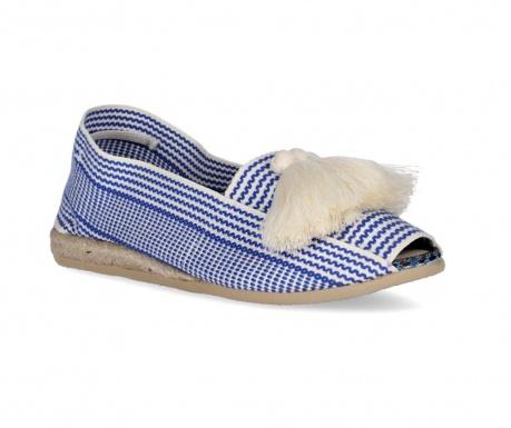 Ženske papuče Frill Blue Navy