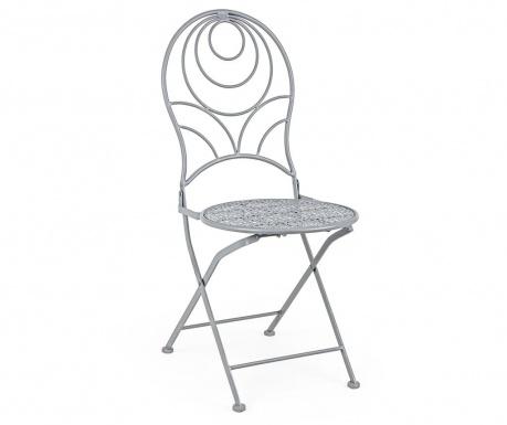 Exteriérová skladacia stolička Marlene Grey