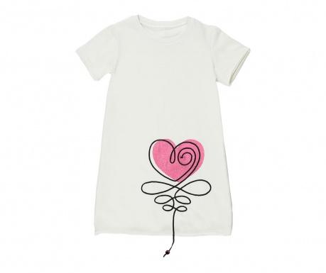 Otroška obleka Heart 7 let