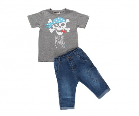 Sada tričko a nohavice pre deti Cool Pirates