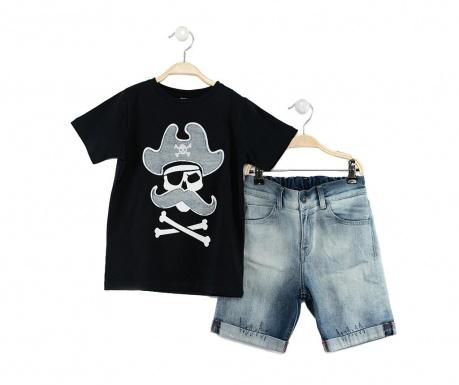 Sada detské tričko a krátke nohavice Pirates Jean