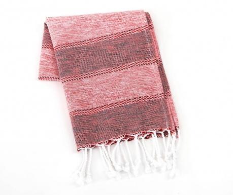 Kopalniška brisača Ege Red 45x90 cm