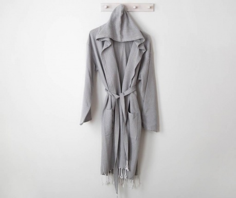 Kupaonski ogrtač unisex Selen Grey S/M