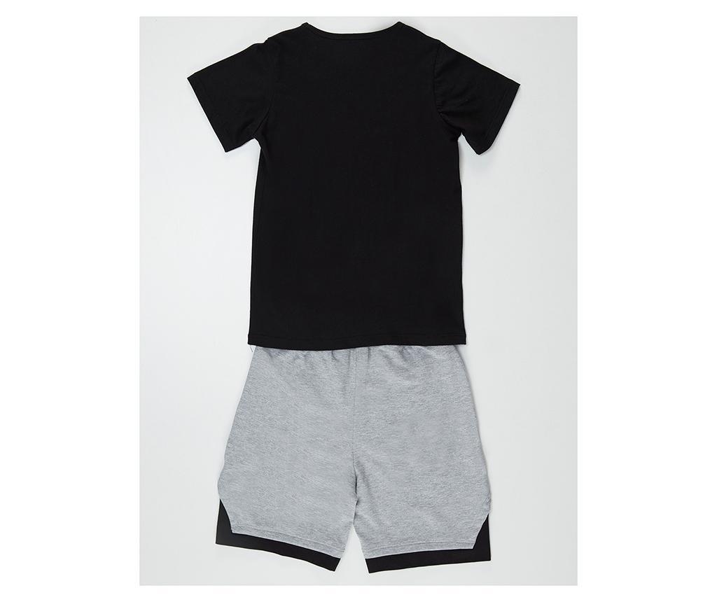 Otroški komplet - majica s kratkimi rokavi in hlače Saving Mode 7 let
