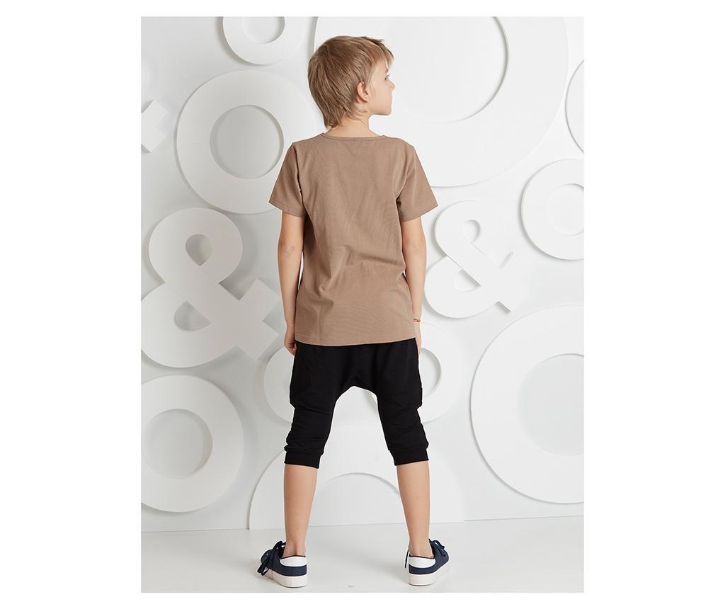 Otroški komplet - majica s kratkimi rokavi in hlače Leopard 3 years