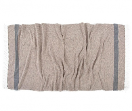 Peshtemal kopalna brisača Teos Coffee 90x170 cm