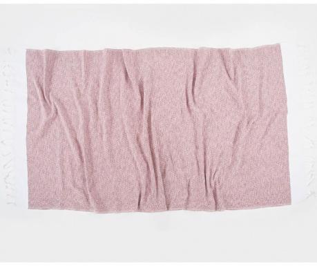 Kupaonski ručnik Pestemal Selis Pink 90x170 cm