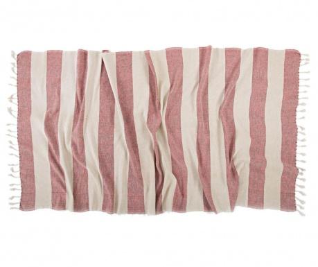 Kupaonski ručnik Pestemal Belen Coral 90x170 cm