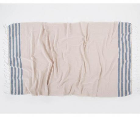 Kupaonski ručnik Pestemal Koza Navy 90x170 cm