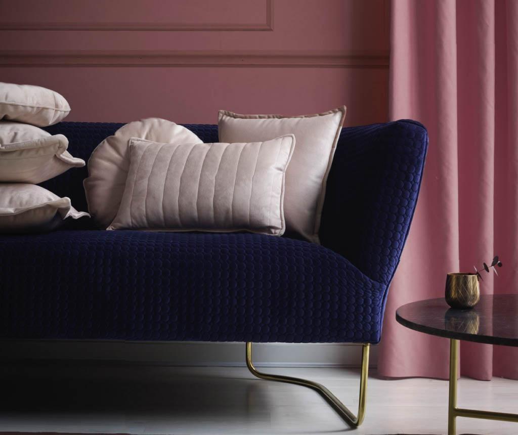 Perna decorativa Rosa Quarzo 45x45 cm