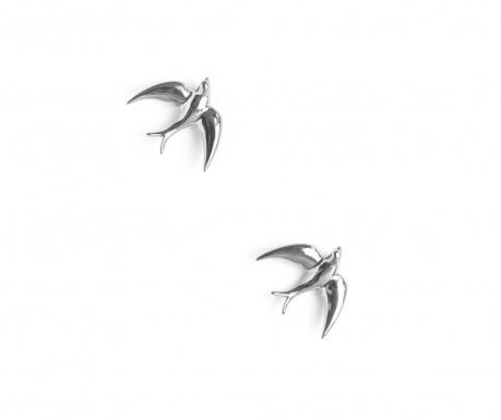 Sada 2 dekorací Swallows