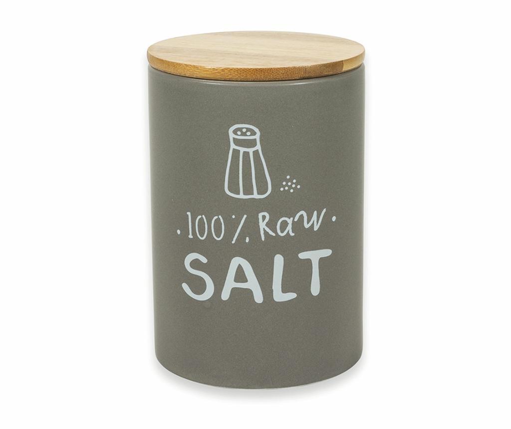 Recipient cu capac ermetic pentru sare Natural