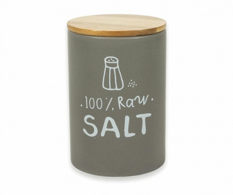 Posuda za sol s hermetičkim poklopcem Natural
