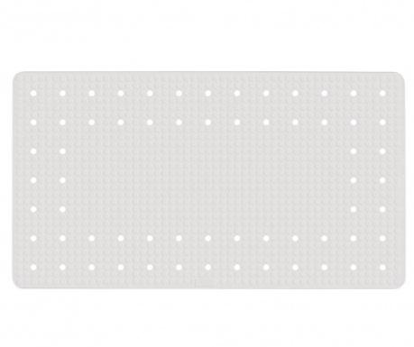 Podloga za kopalno kad Mirasol White 39x69 cm