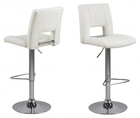 Sada 2 barových židlí Sylvia White