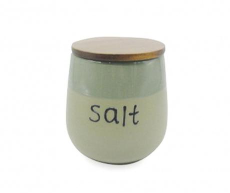 Posuda za sol s hermetičkim poklopcem Mocaccino Duo Green
