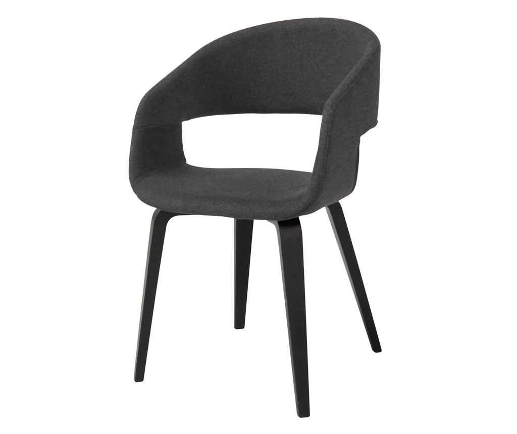 Set 2 stolice Nova Style Dark Grey