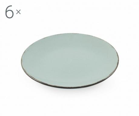 Sada 6 talířů na dezert Baita Grey