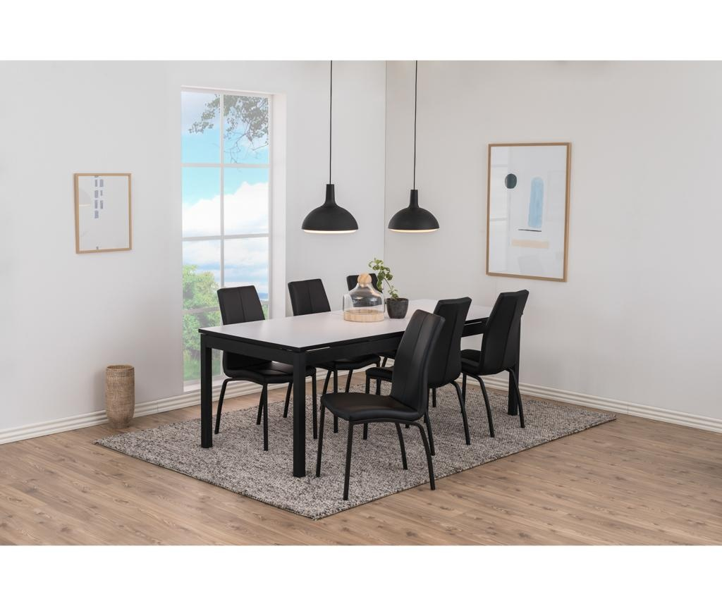 Set 4 stolov Asama Black