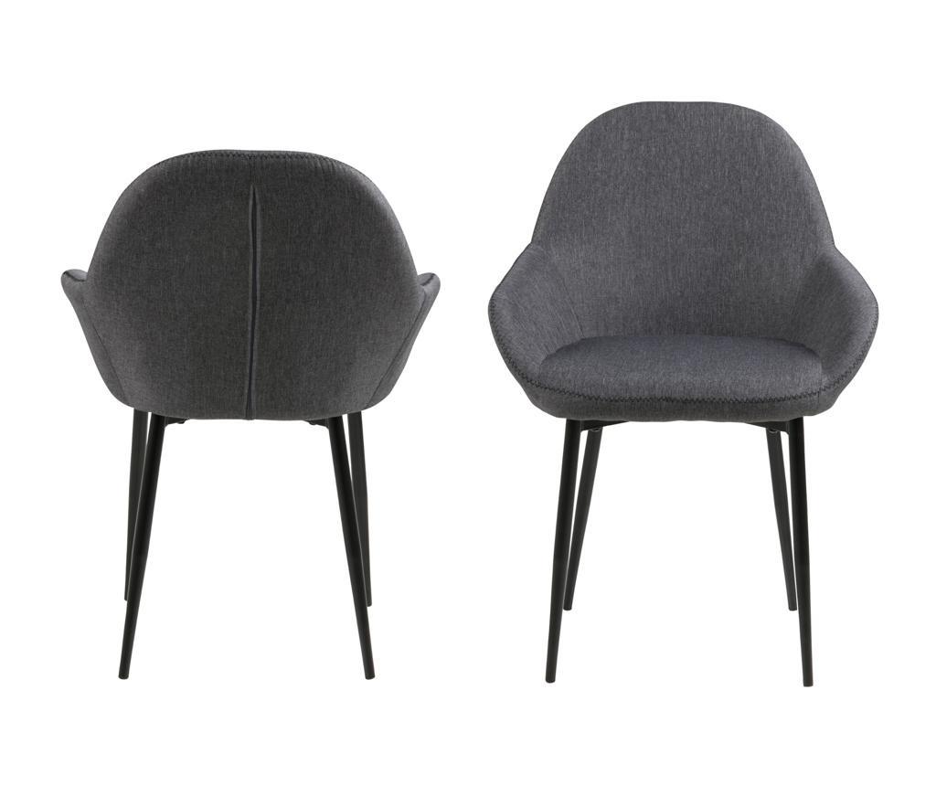 Set 2 scaune Candis Grey