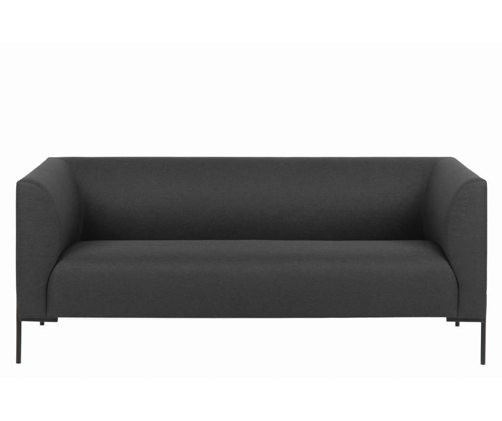 Kauč dvosjed Ontario Dark Grey