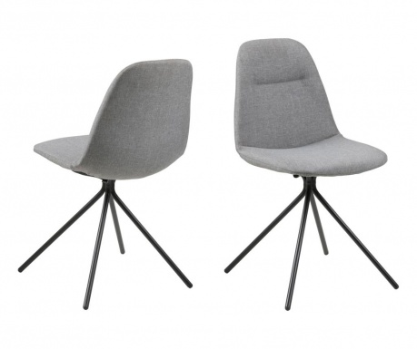 Sada 2 židlí Clive