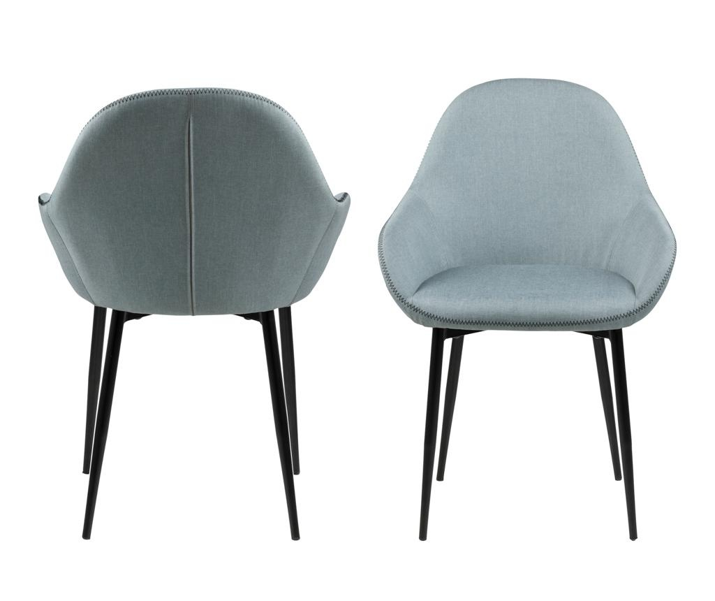Set 2 scaune Candis Dusty Green