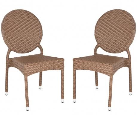Set 2 scaune pentru exterior Frieda