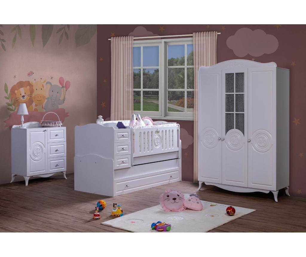 Otroška garderobna omara Circle