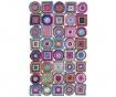 Tepih Color Rain Circle Square 80x150 cm