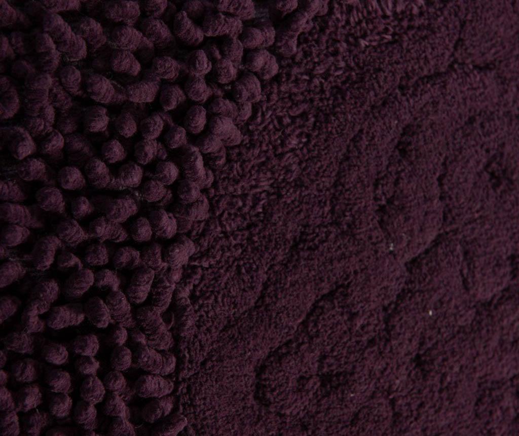 Set 2 covorase de baie Holly Purple