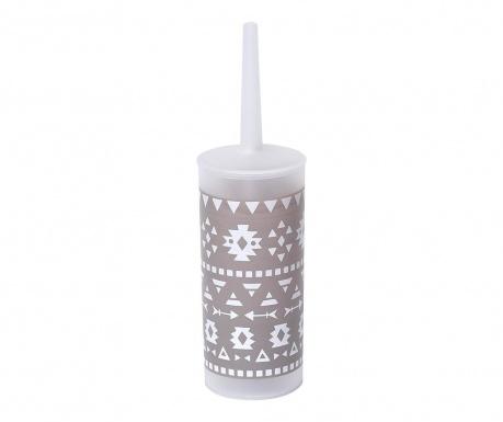 Perie de toaleta cu suport Aztec