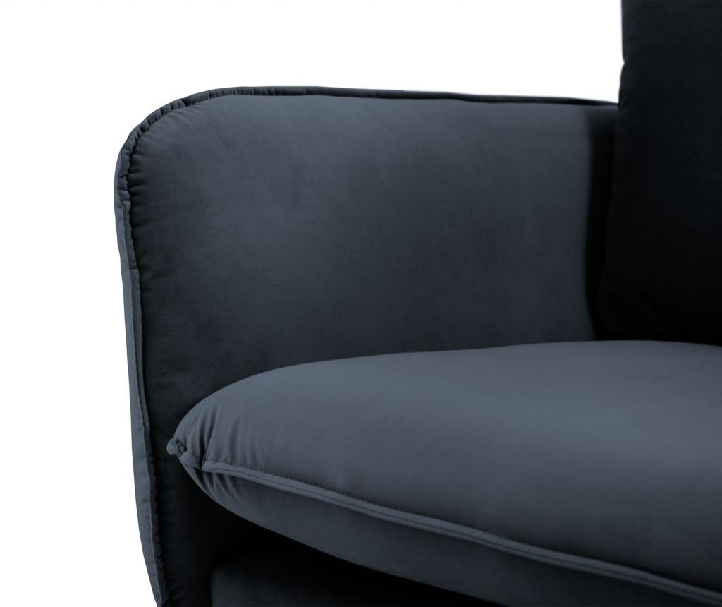 Canapea 3 locuri Vienna Dark Blue