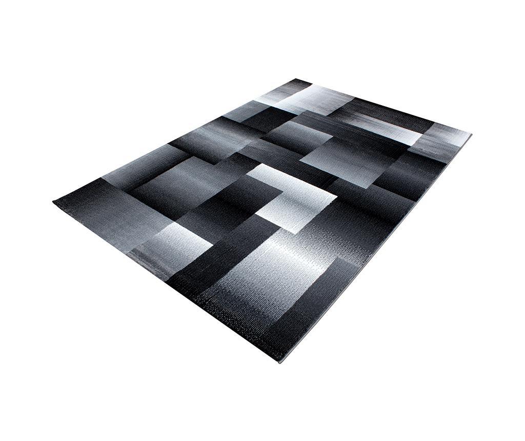 Koberec Miami Black 80x150 cm