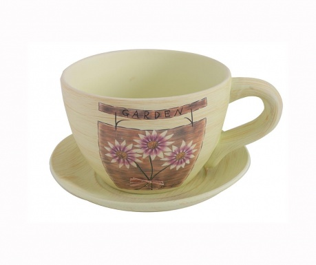 Posuda za cvijeće i podložak Margaret Cup