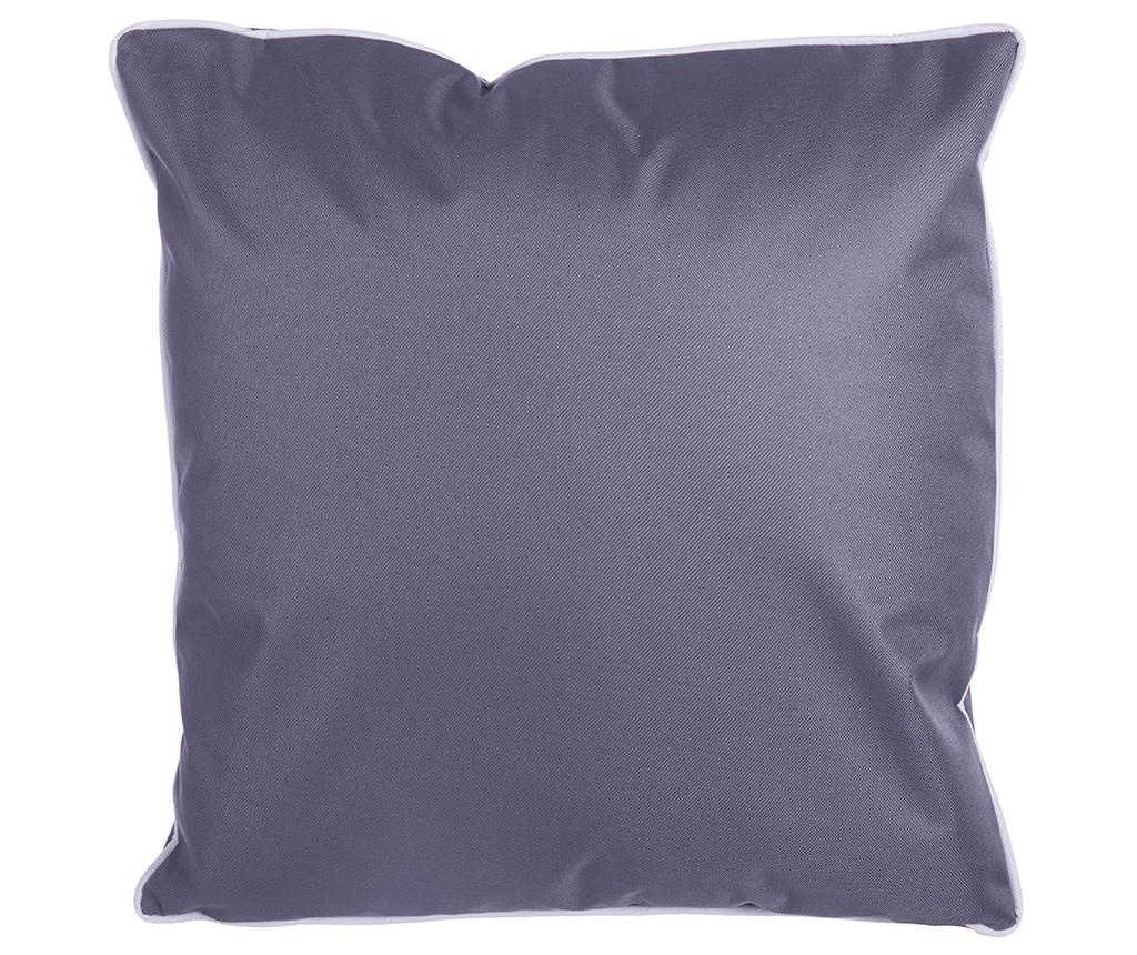 Vanjski jastuk Smooth Grey Anthracite 45x45 cm