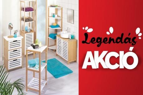 Legendás Akció: Fürdőszoba és rendszerezés