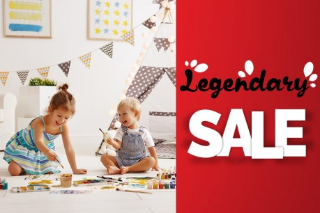 Legendary Sale: Totul pentru copii