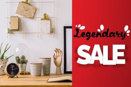 Legendary Sale: Декорации