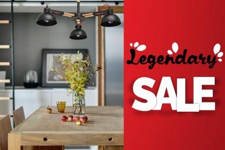 Legendary Sale: Corpuri de iluminat