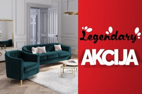 Legendarna Akcija: Kavči in fotelji