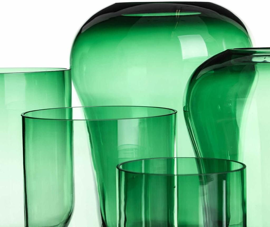 Vaza Allen Wide Top Green