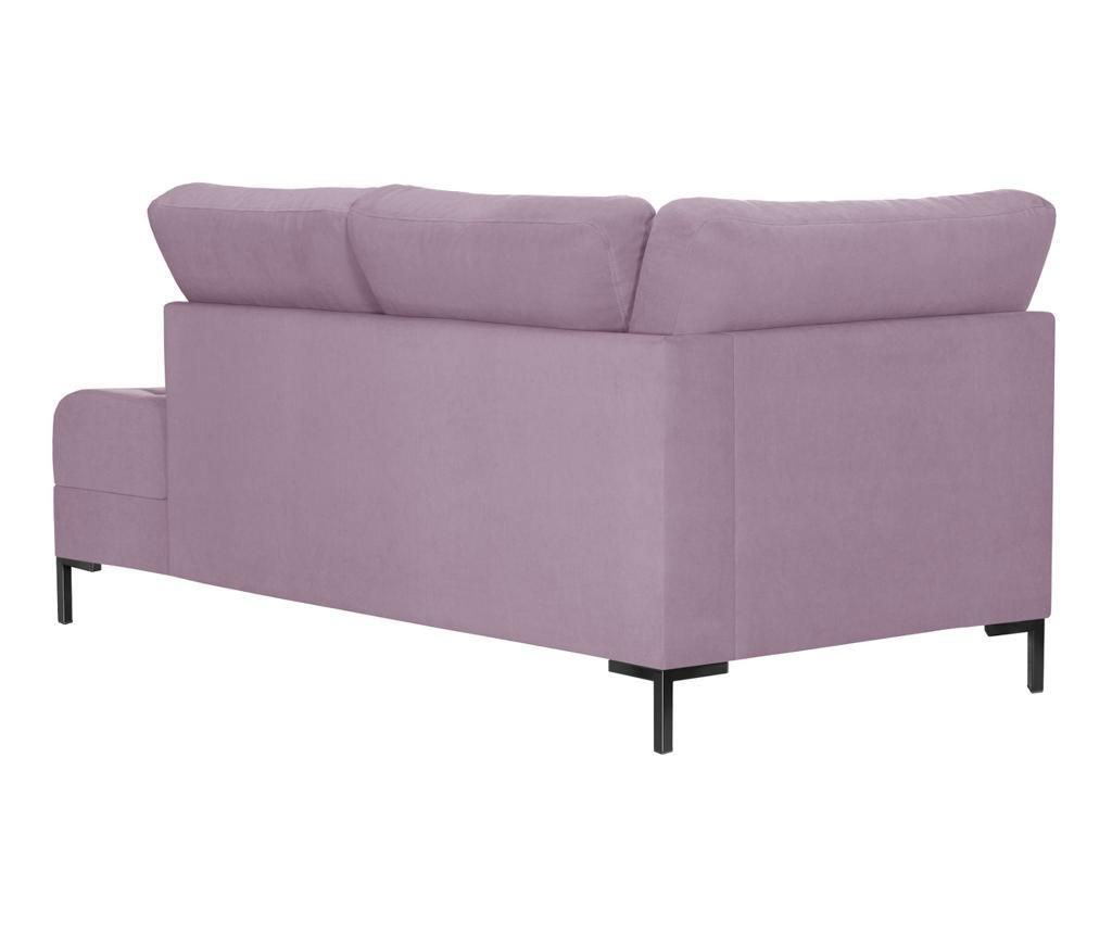 Desni kotni počivalnik za dnevno sobo Harmony Big Lavender