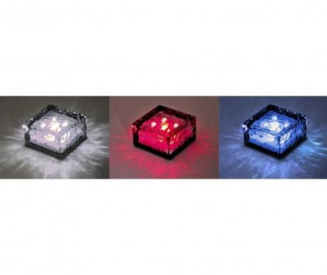 Set 3 solarnih talnih svetilk Ice Cube