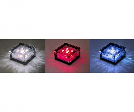 Zestaw 3 lamp solarnych Ice Cube