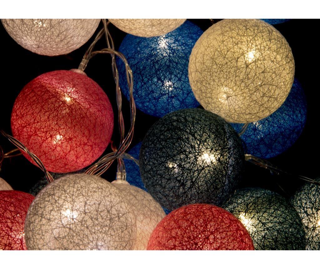 Ghirlanda luminoasa Allen Multi 300 cm