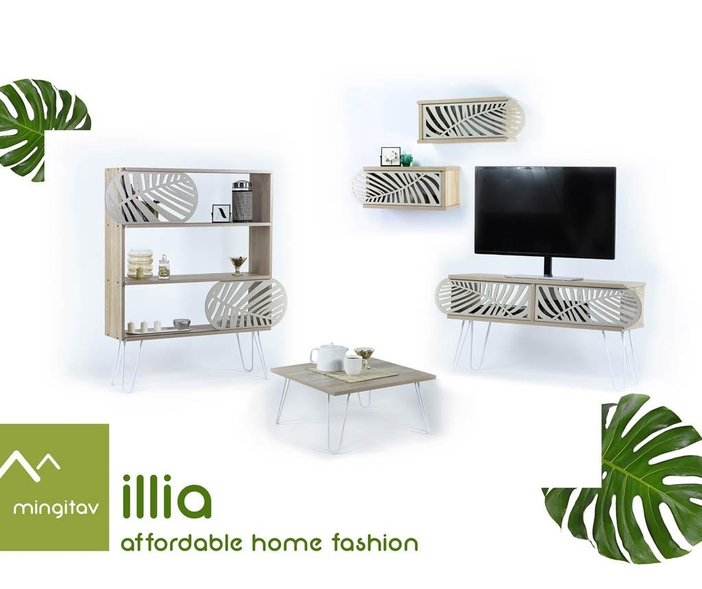 Nábytkový díl Illia Cream Leaves